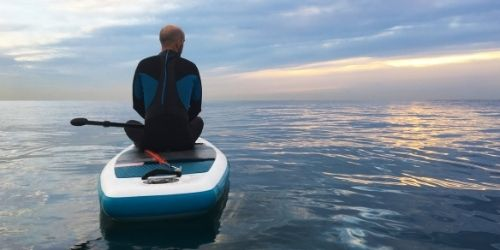 what to wear on a stand up paddle board when it's colder outside