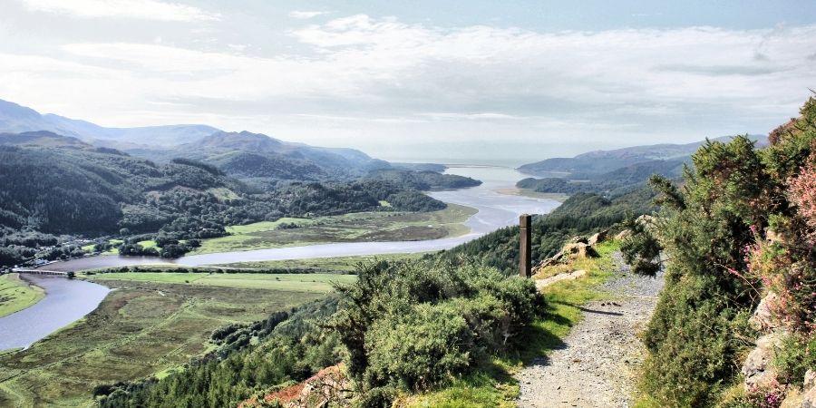 Mawddach Estuary, Mid-Wales