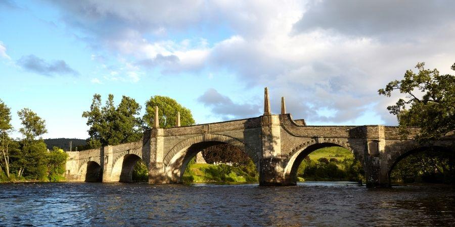 The River Tay, Perthshire, Scotland