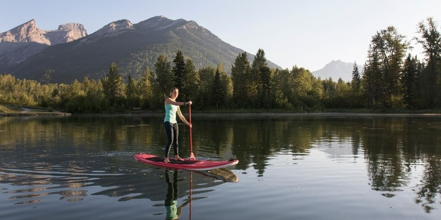 best paddleboarding places in the uk